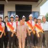 Lễ nhận phụng dưỡng Bà mẹ Việt Nam anh hùng Nguyễn Thị Mười, xã Đại Hiệp